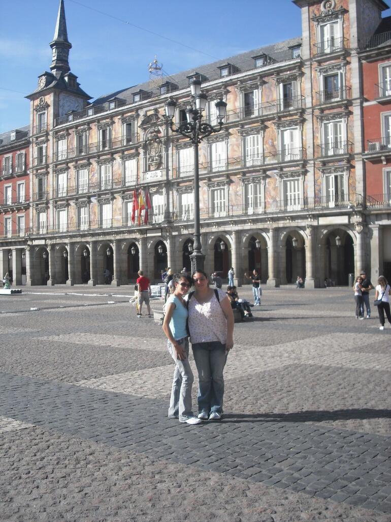 Seville- Plaza de Espana - Madrid