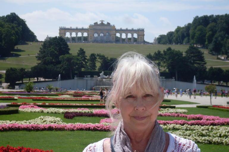 Shonbrunn Garden gail - Vienna