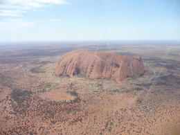This helicopter tour was only of Uluru. Kata Tjuta was only seen in the distance. , Kana C - February 2013