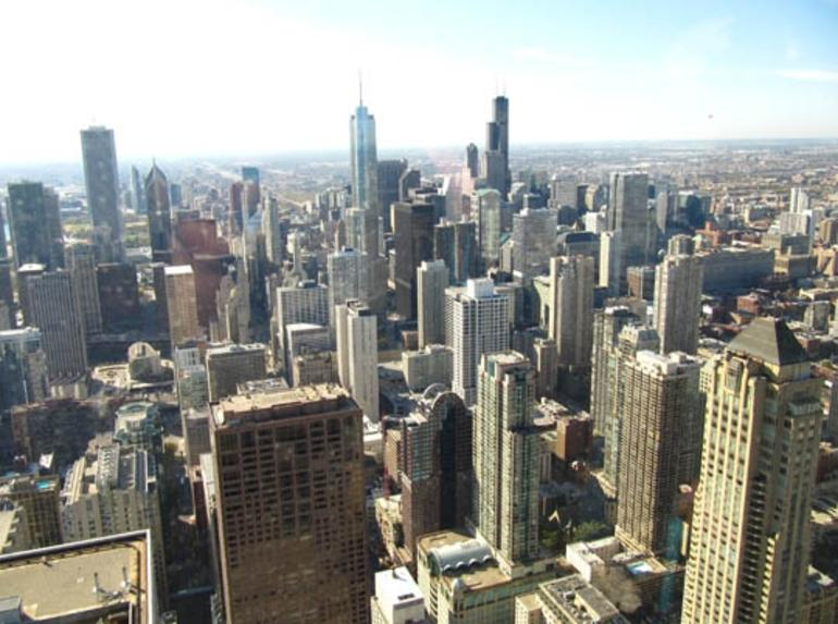View of Chicago from John Hancock Center - Chicago