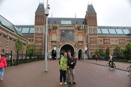 Photo taken by our guide of Susan and Roger visiting the Rijksmuseum , Roger M - July 2016