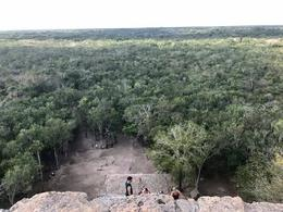 View from The Grand Mountain in Coba! , Amy G - February 2017