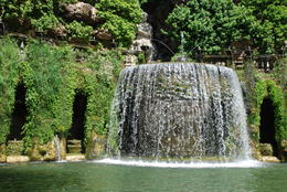 Fountain of Tivoli in grounds of Villa d'Este , Margaret K - June 2017
