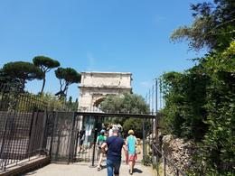Archway of Roman Forum. , jetboatcpa - June 2017