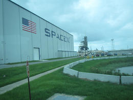 Space X building by launch Pad 39a , David D - September 2017
