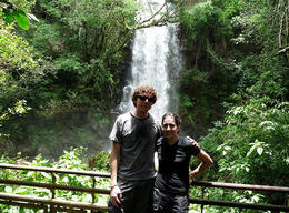Hanging out on the Argentinean side of the falls., kellythepea - December 2011