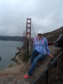It was amazing to see this Bridge, It was my dream came true. , Maria C - August 2014
