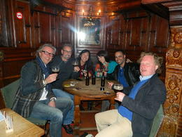 One of the oldest bars in Belgium , Andraya B - April 2014