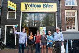 Bike tour - Amsterdam, Betsy - September 2011