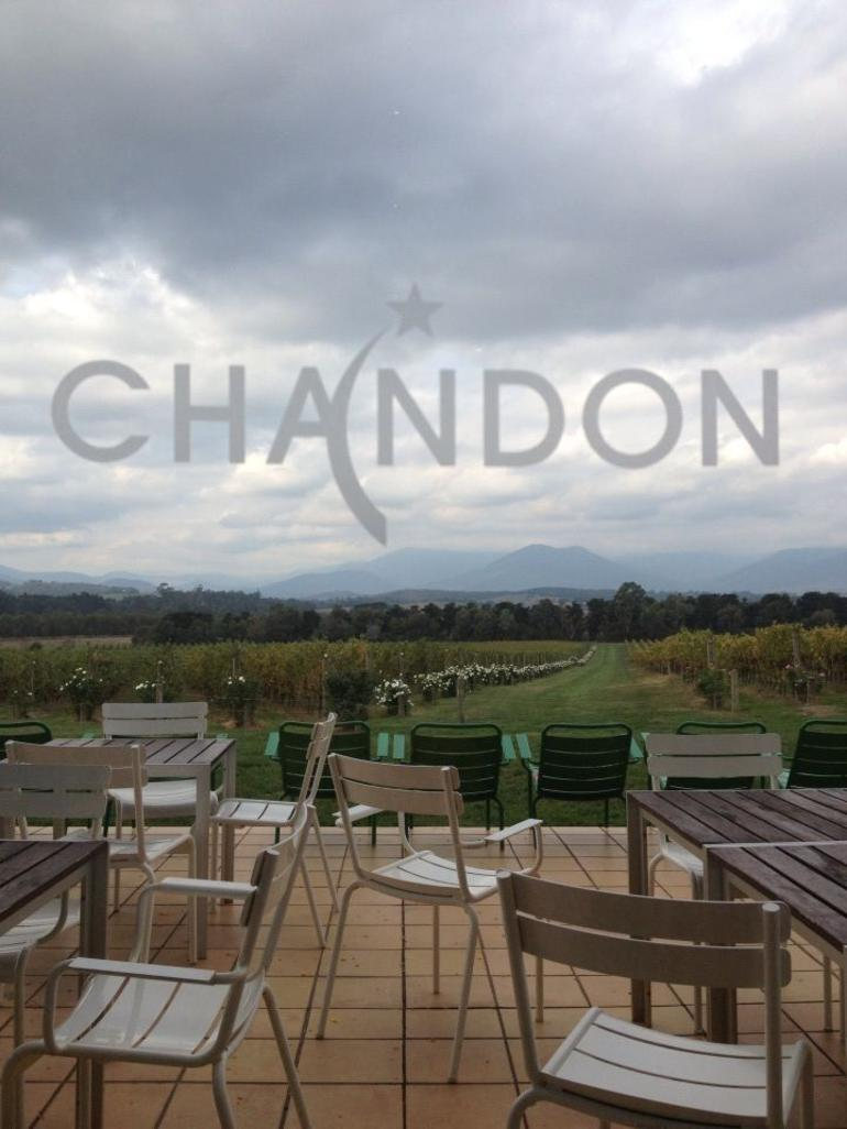 Bubbles at Chandon! - Melbourne