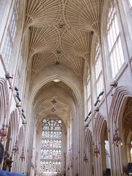 Small, but beautiful cathedral with amazing fan ceiling and light pouring in the windows, Robert M - July 2010