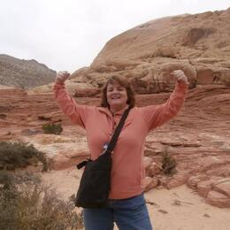 Photo opportunity in Red Rock Canyon! , Connie B - November 2013