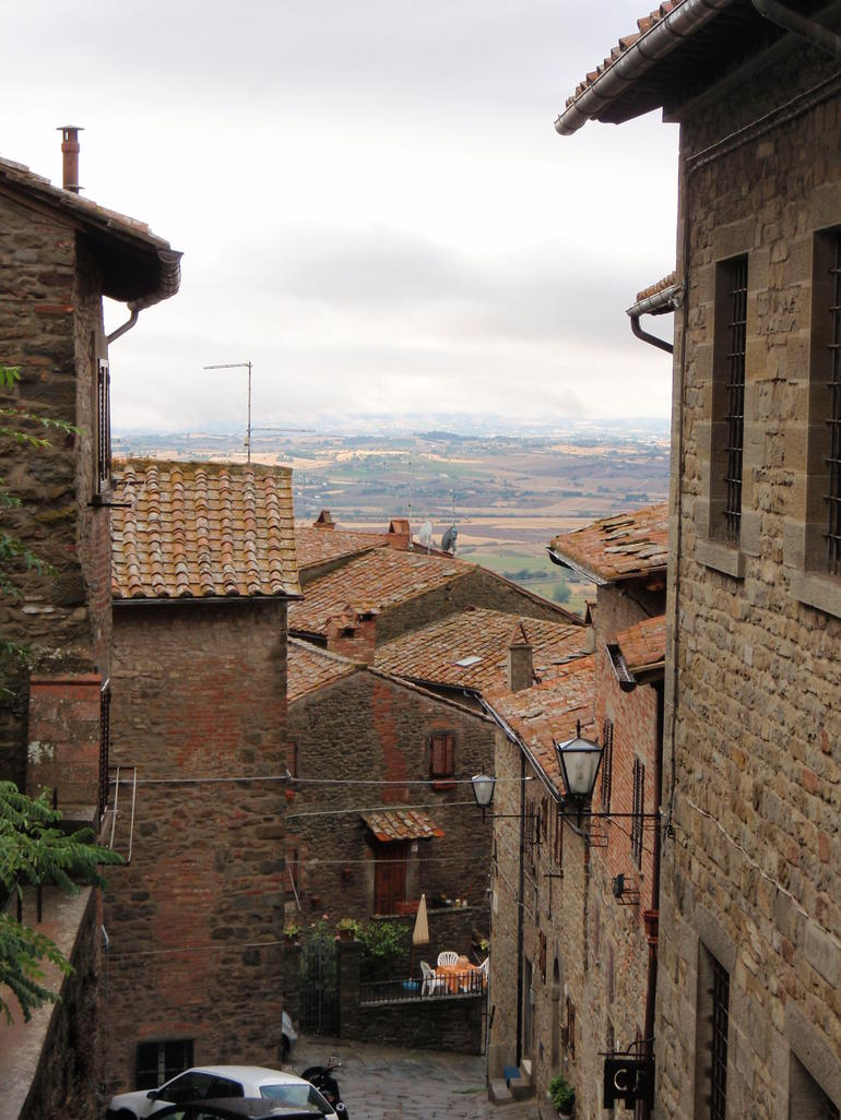 Cortona rooftop views - Rome
