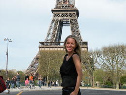 So happy to be in Paris! We had the best weather. It was a perfect day. , Keith R - May 2011
