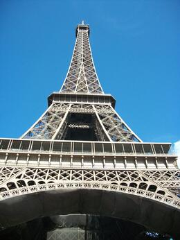 Underneath the Eiffel Tower, Susan N - August 2010