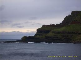 Overlooking cliffs from Giant's Causeway, Northern Ireland, Lacey B - November 2008