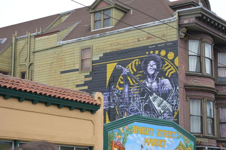 Haight Street Market - Jimi Hendrix - San Francisco