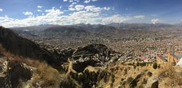 View of La Paz - such a cool city nestled in between mountain!, Bandit - July 2014