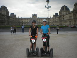 Segway in front of Louvre , Carrie R - July 2013