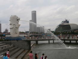 The Merlion in Marina Bay , Mjv1991 - February 2014