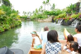 Boat ride at the Polynesian Cultural Center.i, Jeff - February 2008