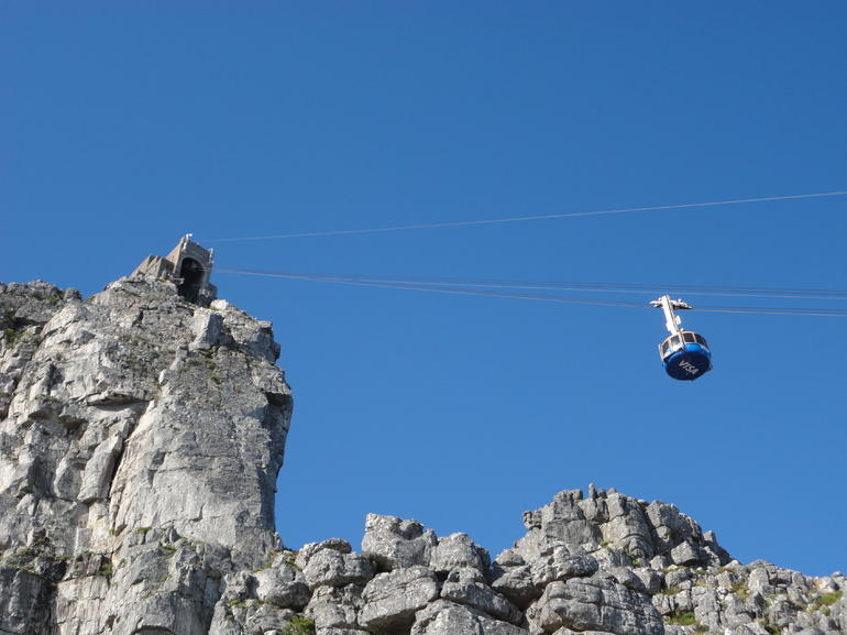 Upper Cable Way Station - Cape Town