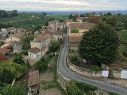 View of Saint-Émilion from La Tour du Chateau du Roy , Kimberly - September 2015