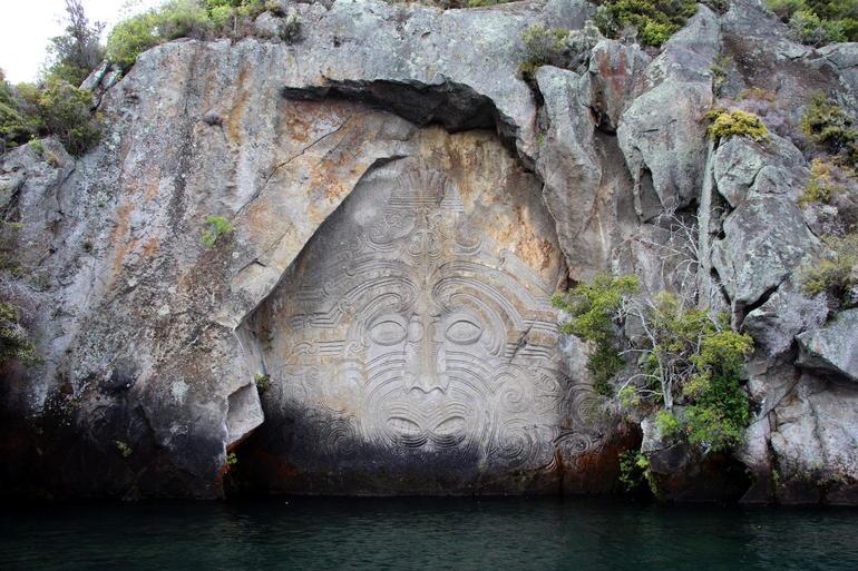 Maori Rock Carvings Sailing Tour