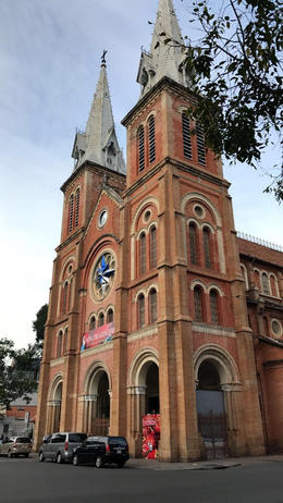Notre-Dame Cathedral Basilica of Saigon officially Cathedral Basilica of Ou , Nicholas A - January 2017