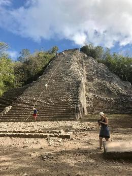 The Grand Mountain in Coba! , Amy G - February 2017