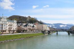 Salzburg by the Salzach , Dibyak B - April 2012