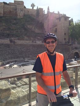 Kirk in Malaga on a Segway tour , Kirk H - January 2016