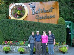 Our tour party at gardens., Charles L - October 2008