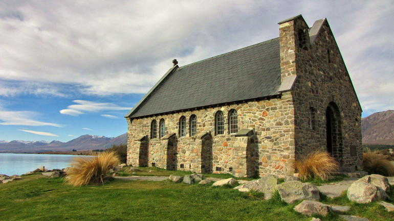 Church of Good Shepherd, Lake Tekapo - Queenstown