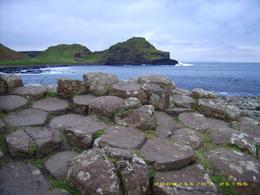 Just a few of the basalt steps at Giant's Causeway, Lacey B - November 2008