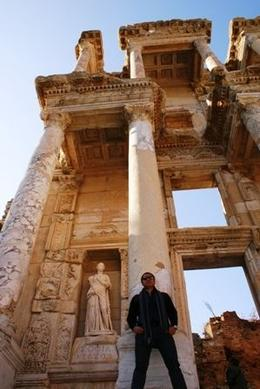 The wonderful structure of the Celsus Library is a sight to behold, Raymond G - December 2009