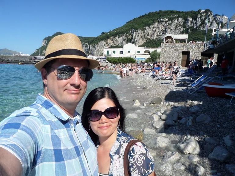 Lovely beach at Capri - Rome