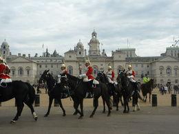 Buckingham Palace tour, Irene - December 2014
