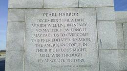 Beautiful, grand scale remembrance of Pearl Harbor. , Carol M - February 2011