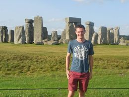 Me in front of Stonehenge , Chris L - August 2015