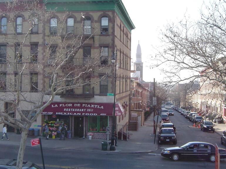 Sunset Park Street Scene - New York City