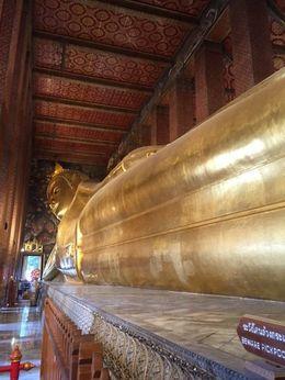 Reclining Buddha , Blesilda B - August 2015