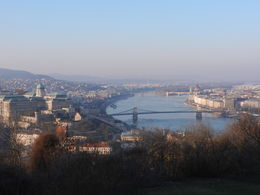View from Gellert Hill , rogerkath - February 2015