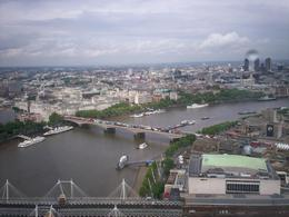 The bridge as seen from the London Eye., Alfred M - July 2008