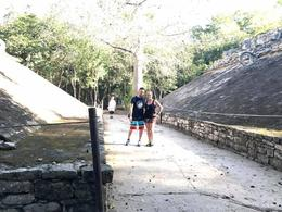 Ball courts in Coba! , Amy G - February 2017