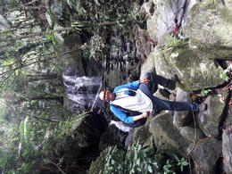 Me at El Yunque rain forest , radaramses - August 2017