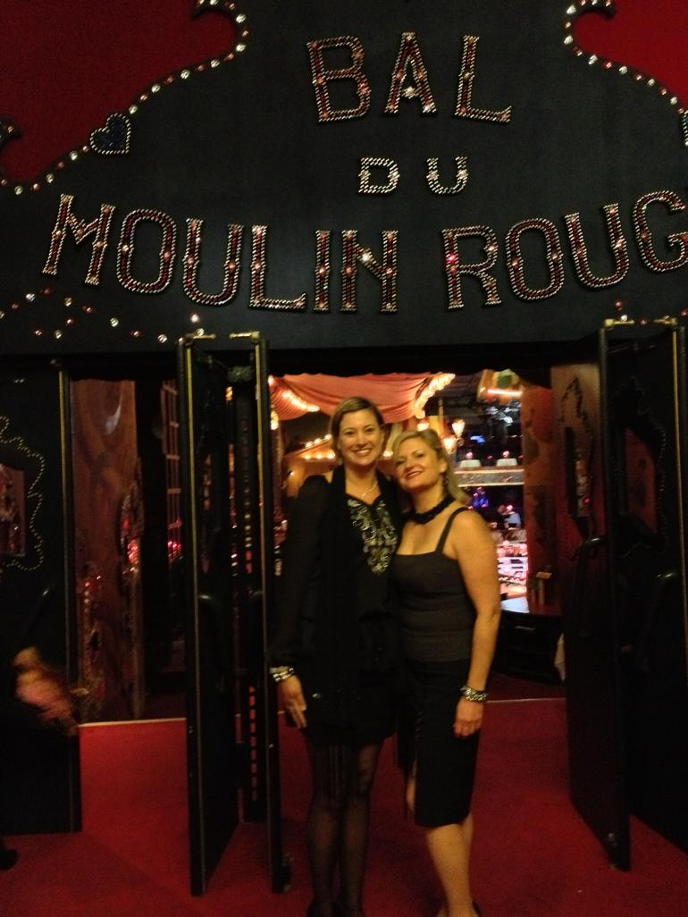 At the Moulin Rouge! - Paris
