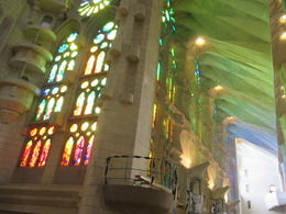 Obviously you want to go into Sagrada Familia when the sun is shining. It's more than awe inspiriing. It's divine. , DIANA S - May 2014
