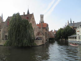 View from canal boat (which was not included in the tour, but and quot;highly encouraged and quot; to ride in for an additional 7 Euro) , Kimberly J - September 2014