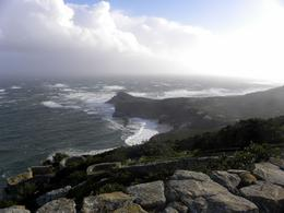 Cape Point taken from the lighthouse., Kathi J - December 2009